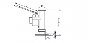 Cric hidraulic multifunctional