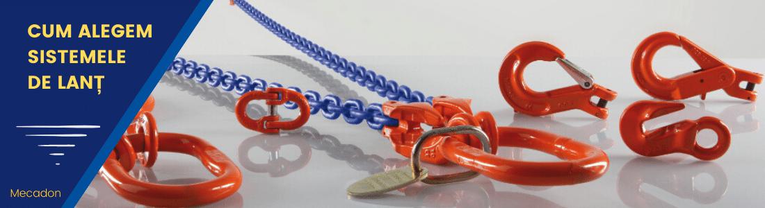 Cum alegem corect sistemele de ridicare cu lanț
